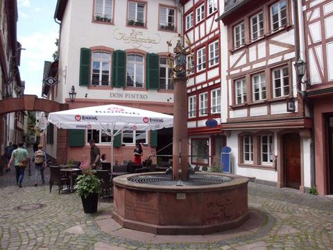Mainz : die Altstadt