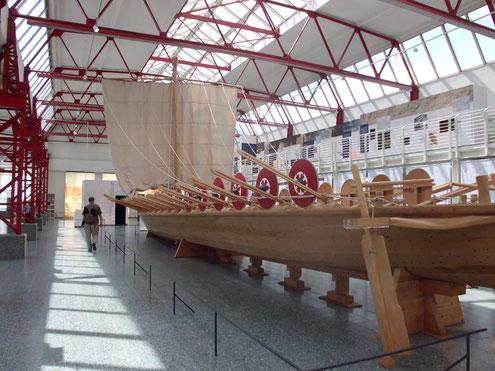 römische Schiffe Mainz