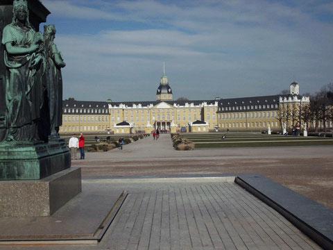 Schlossblick Karlsruhe