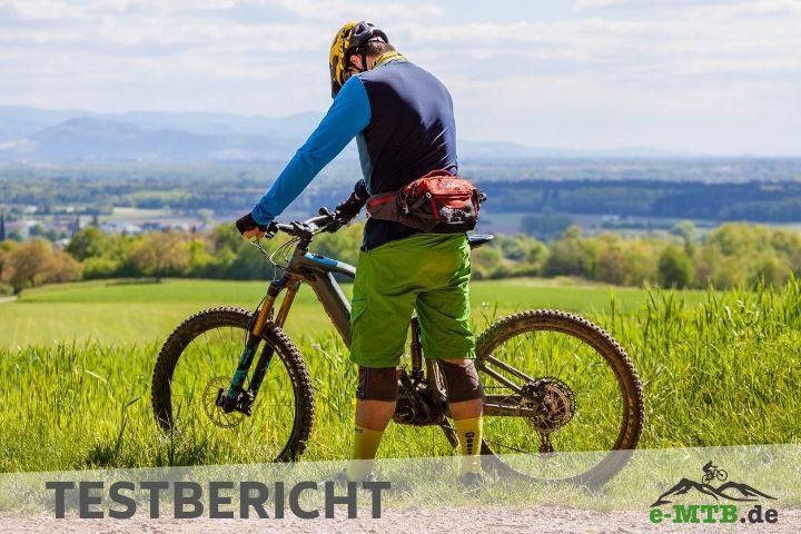 Testbericht Bauchgurt für e-Mountainbiker, EVOC Hip Pack Pro