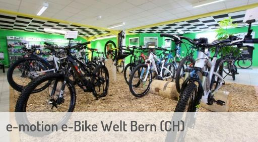 e-Mountainbike Händler in Bern Schweiz