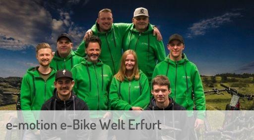 e-Mountainbike Händler in Erfurt