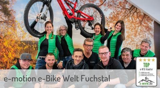 bewerteter Top e-MTB Händler Fuchstal