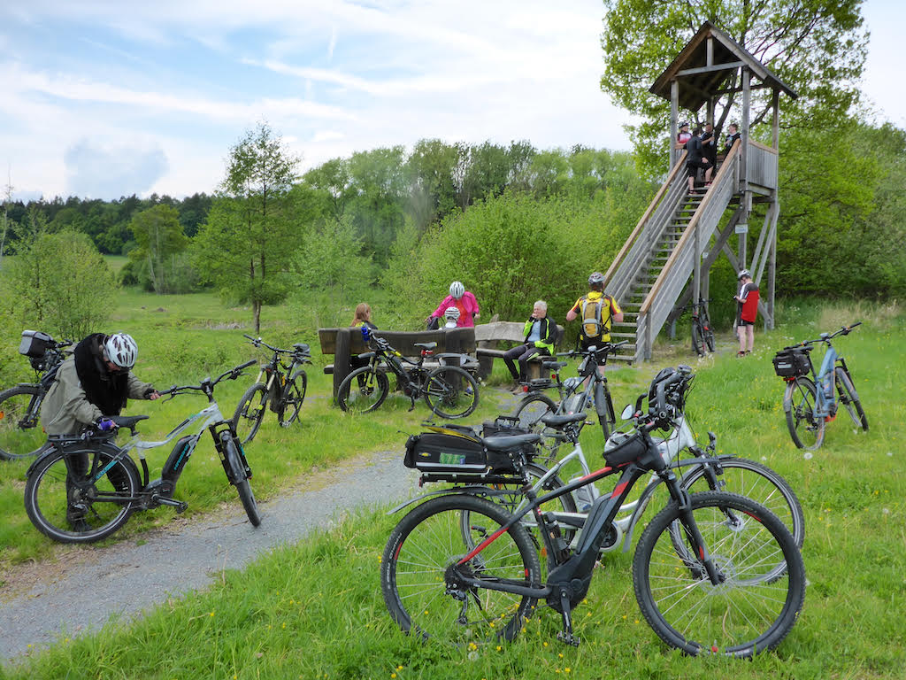 Thomas ist auch Touren Guide im Westerwald...
