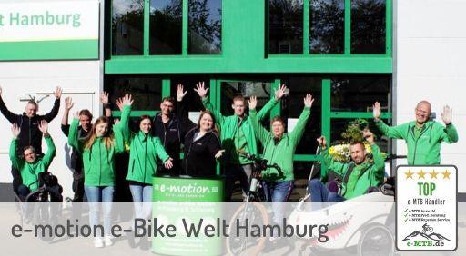 bewerteter Top e-MTB Händler Hamburg