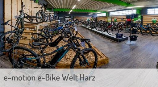 e-Mountainbike Händler in Harz