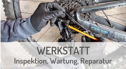 Zweiradwerkstatt für e-Mountainbikes in Ravensburg