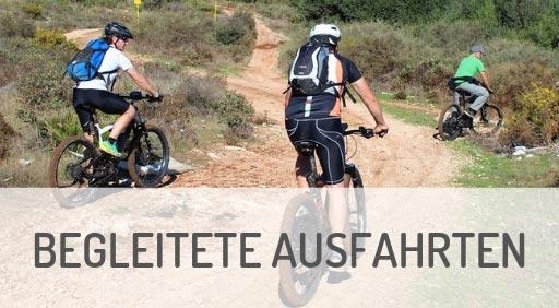 geführte e-Mountainbike Ausfahrten in Ravensburg