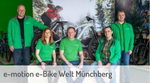 e-Mountainbike Händler in Münchberg