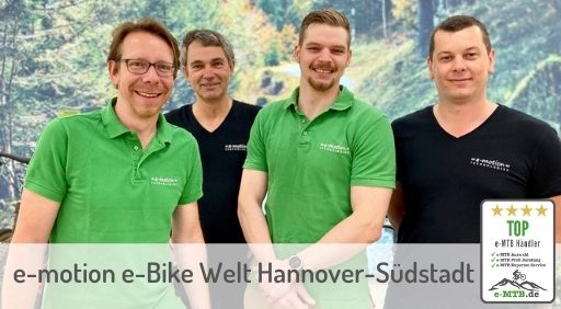 bewerteter Top e-MTB Händler Hannover-Südstadt