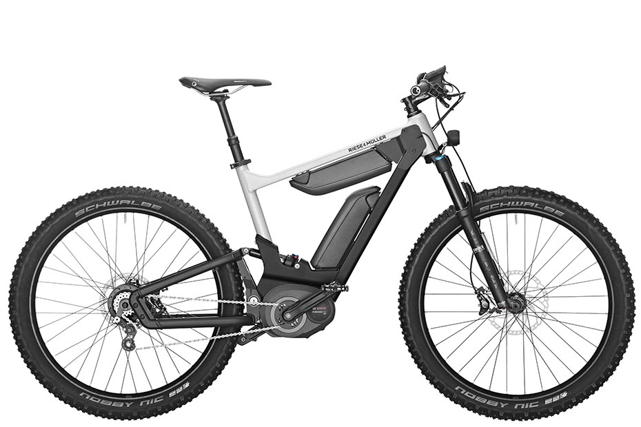 Riese & Müller Delite mountain rohloff 2019 in pearl white