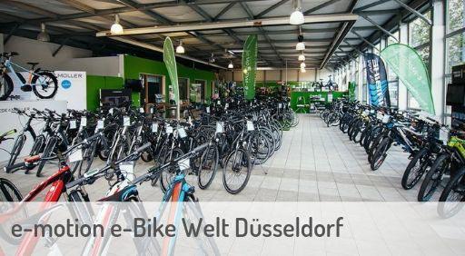 e-Mountainbike Händler in Düsseldorf