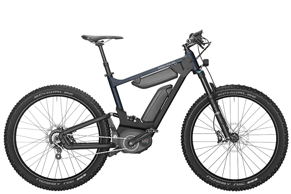 Riese & Müller Delite mountain rohloff 2019 in deepsea blue metallic