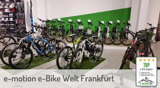 bewerteter Top e-MTB Händler Frankfurt