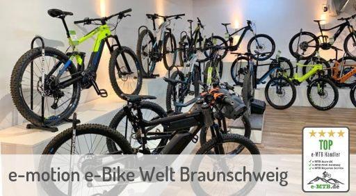 bewerteter Top e-MTB Händler Braunschweig
