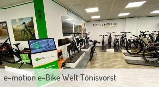 e-Mountainbike Händler in Tönisvorst