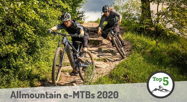 Allmountain e-MTBs 2020