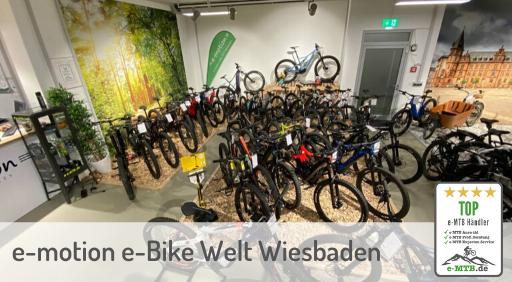 bewerteter Top e-MTB Händler Wiesbaden