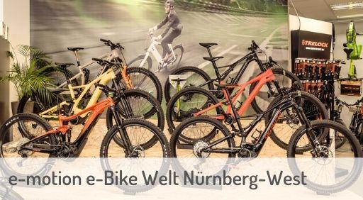 e-Mountainbike Händler in Nürnberg-West