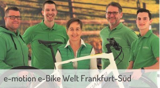 e-Mountainbike Händler in Frankfurt-Süd