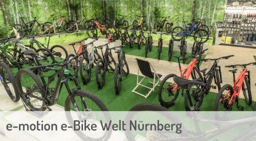 e-Mountainbike Händler in Nürnberg