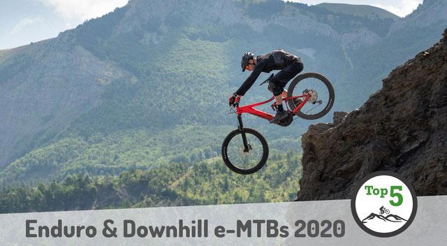 Enduro- und Downhill e-MTBs 2020