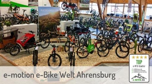 bewerteter Top e-MTB Händler Ahrensburg