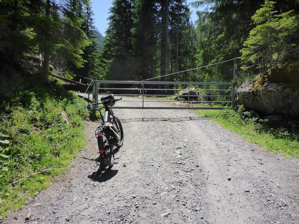 und scheut auch den Alpencross nicht mit seinem Riese & Müller.