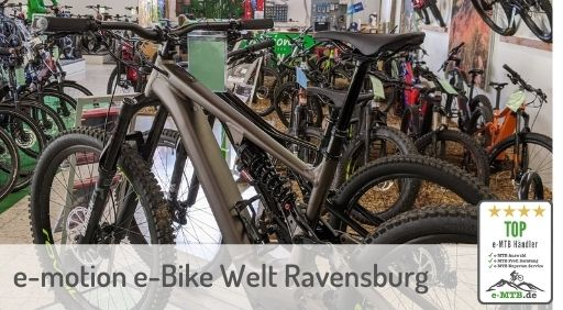 bewerteter Top e-MTB Händler Ravensburg