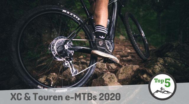 XC und Touren e-MTBs 2020