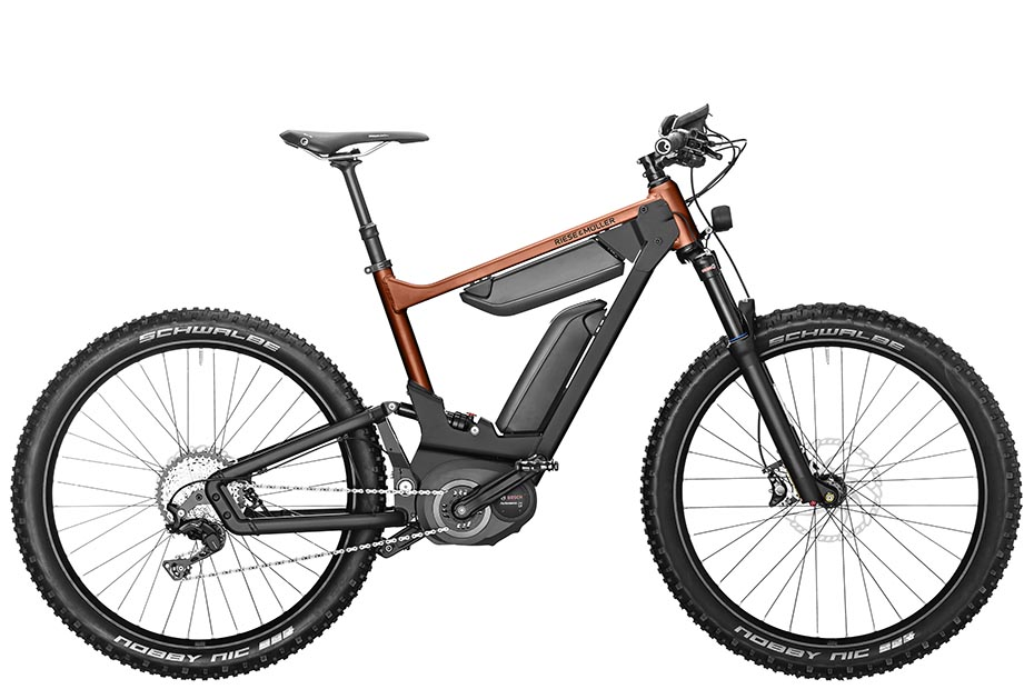 Riese & Müller Delite mountain 2019 in solar orange metallic