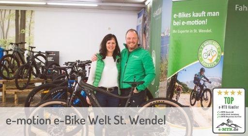 e-Mountainbike Händler in St. Wendel