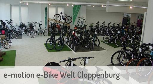 e-Mountainbike Händler in Cloppenburg