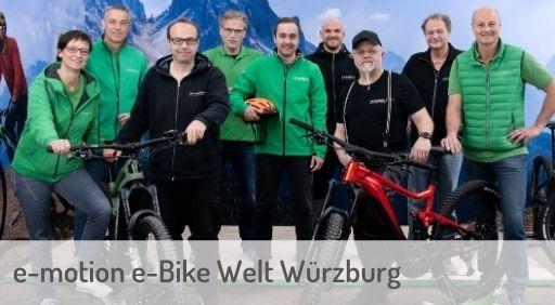 e-Mountainbike Händler in Würzburg