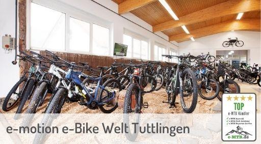 bewerteter Top e-MTB Händler Tuttlingen