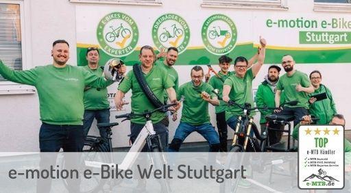 bewerteter Top e-MTB Händler Stuttgart