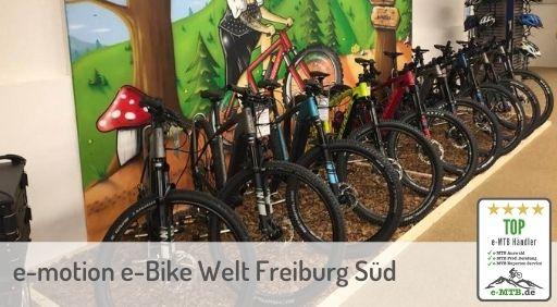 bewerteter Top e-MTB Händler Freiburg Süd