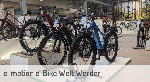 e-Mountainbike Händler in Werder an der Havel