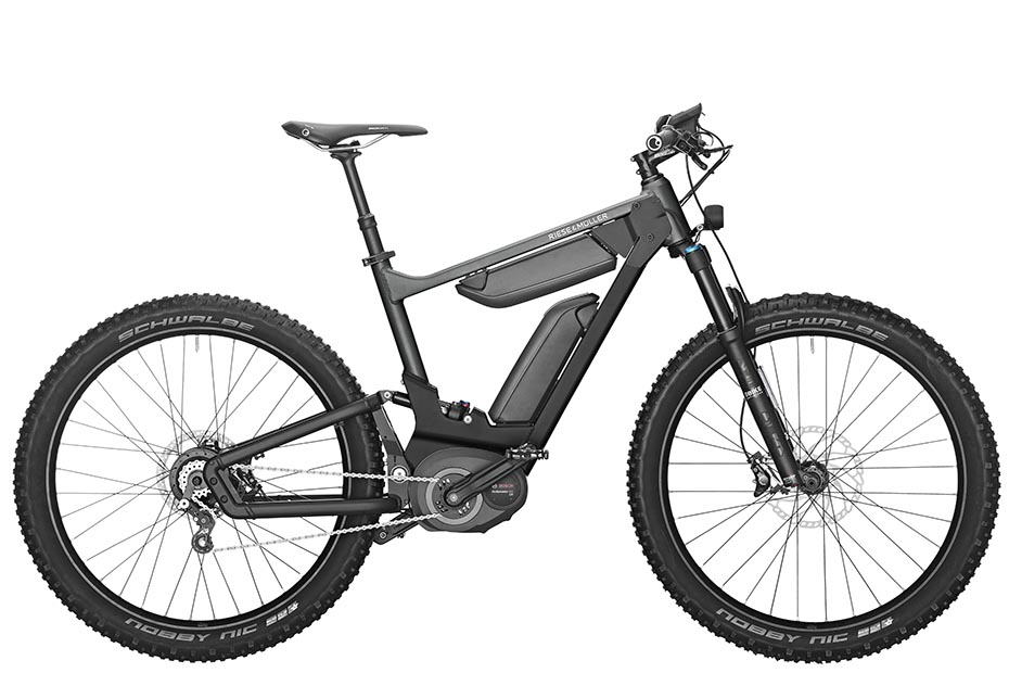 Riese & Müller Delite mountain rohloff 2019 in urban grey metallic