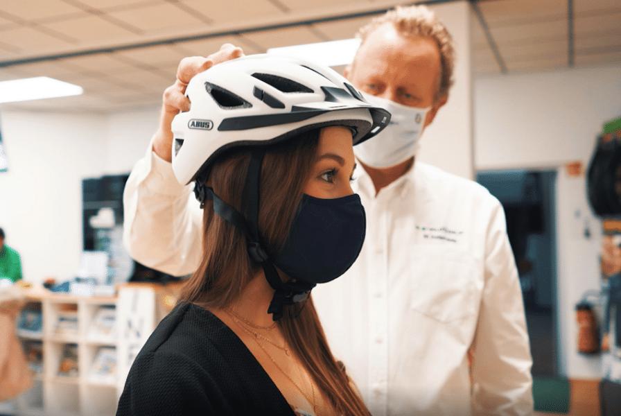 Helm für die Stadt und Alltagsfahrer