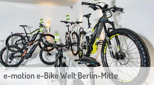 e-Mountainbike Händler in Berlin-Mitte
