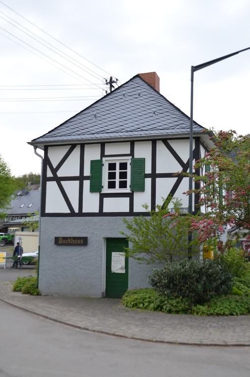 Das Backhaus in der Dorfmitte
