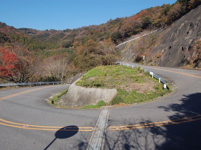 三ヶ根山スカイライン周辺の道も面白い