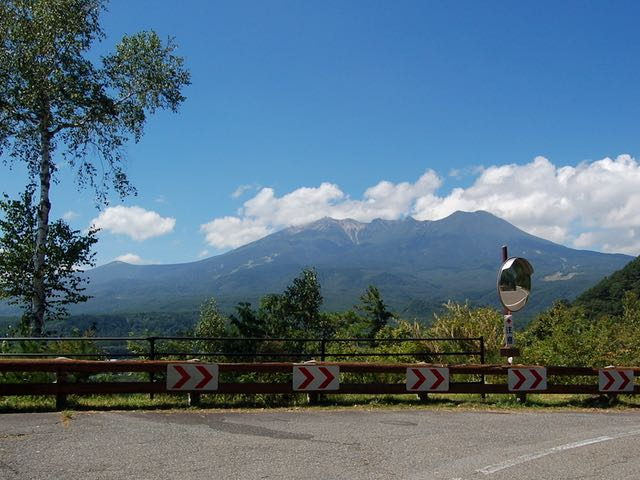 九蔵峠からの眺め。やはり天気の良い日に行きたい