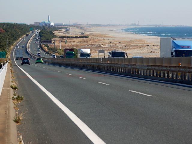 R1・浜名バイパスの浜名大橋からの眺め