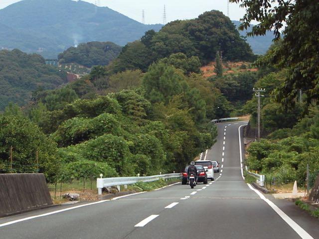 奥浜名オレンジロードを県道303まで進む