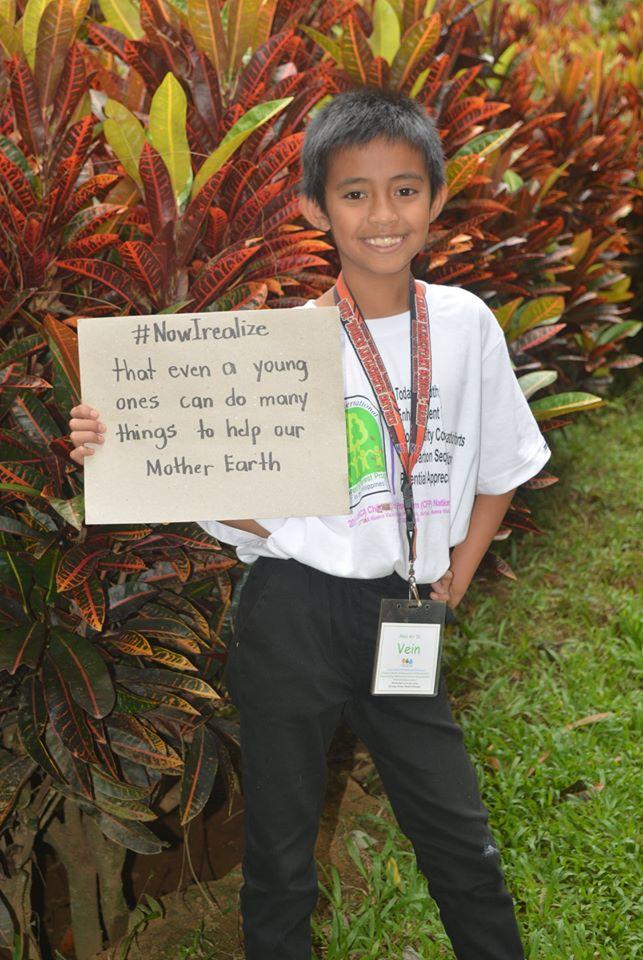 #私が気づいたこと 若い人でも、母なる地球を助けるためにできることがたくさんあります