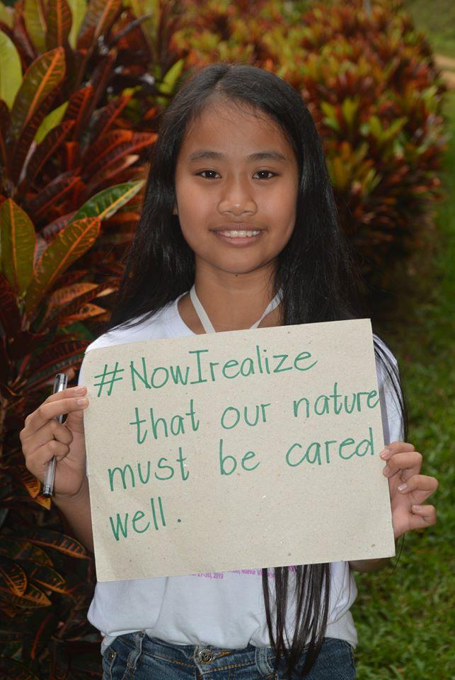#私が気づいたこと 私たちの自然は守られなければなりません