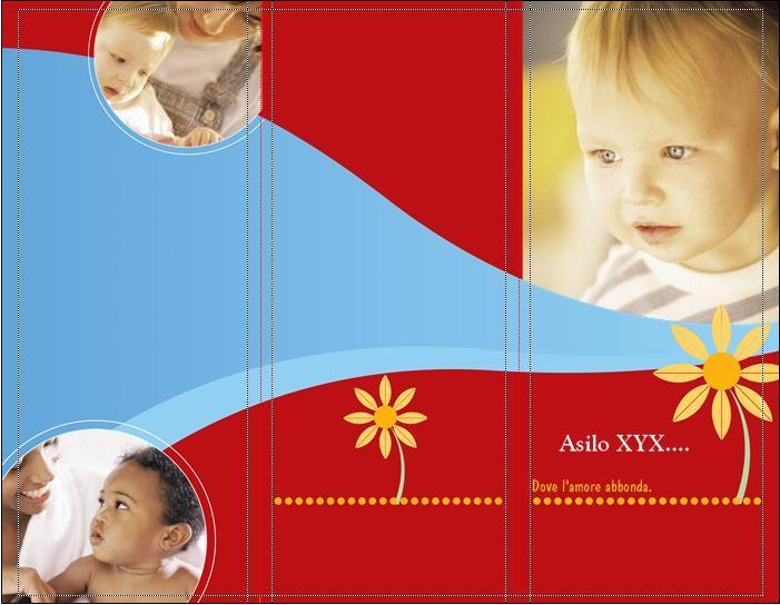 25 Brochures per asili, scuola dell'infanzia  (punti 70)