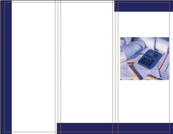 25 Brochures per Architetti, Ingegneri, Commercialisti,...(punti 70)